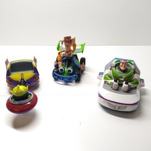 Disney Alien, Buzz & Woody Pushback Vehicle